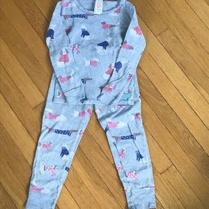 Mini Boden dog pajamas long Johns!